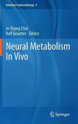 Neural Metabolism In Vivo - Advances in Neurobiology 4 (Hardback)