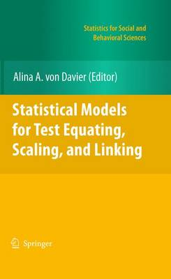Statistical Models for Test Equating, Scaling, and Linking - Statistics for Social and Behavioral Sciences (Paperback)