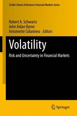 Volatility: Risk and Uncertainty in Financial Markets - Zicklin School of Business Financial Markets Series (Paperback)