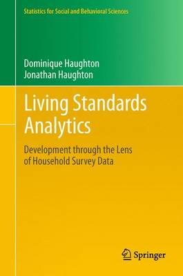 Living Standards Analytics: Development through the Lens of Household Survey Data - Statistics for Social and Behavioral Sciences (Paperback)