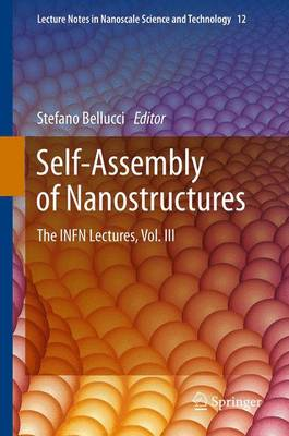 Self-Assembly of Nanostructures: The INFN Lectures, Vol. III - Lecture Notes in Nanoscale Science and Technology 12 (Paperback)