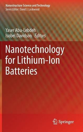 Nanotechnology for Lithium-Ion Batteries - Nanostructure Science and Technology (Hardback)