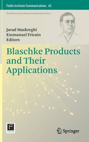 Blaschke Products and Their Applications - Fields Institute Communications 65 (Hardback)