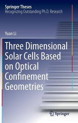 Three Dimensional Solar Cells Based on Optical Confinement Geometries - Springer Theses (Hardback)