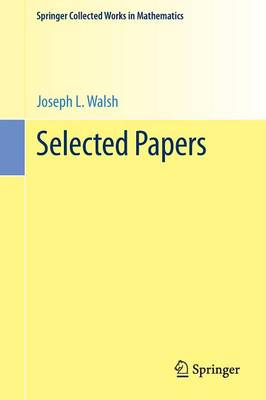 Selected Papers - Springer Collected Works in Mathematics (Paperback)
