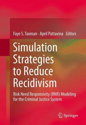 Simulation Strategies to Reduce Recidivism: Risk Need Responsivity (RNR) Modeling for the Criminal Justice System (Hardback)