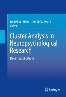 Cluster Analysis in Neuropsychological Research: Recent Applications (Hardback)