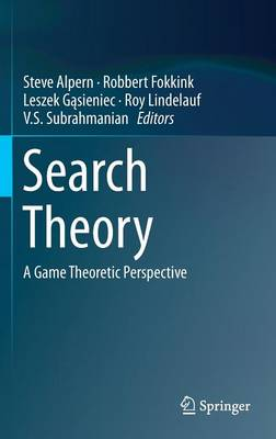 Search Theory: A Game Theoretic Perspective (Hardback)