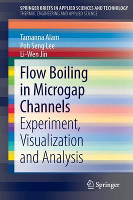 Flow Boiling in Microgap Channels: Experiment, Visualization and Analysis - SpringerBriefs in Applied Sciences and Technology (Paperback)