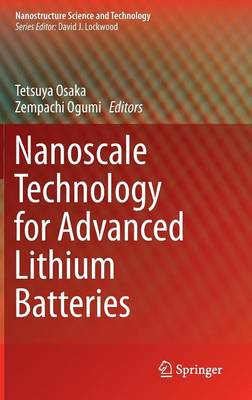 Nanoscale Technology for Advanced Lithium Batteries - Nanostructure Science and Technology (Hardback)