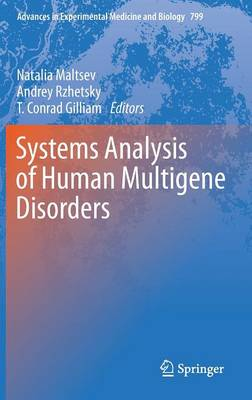 Systems Analysis of Human Multigene Disorders - Advances in Experimental Medicine and Biology 799