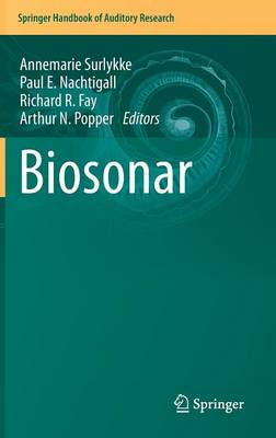 Biosonar - Springer Handbook of Auditory Research 51 (Hardback)