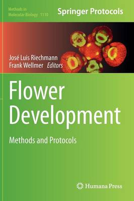 Flower Development: Methods and Protocols - Methods in Molecular Biology 1110 (Hardback)