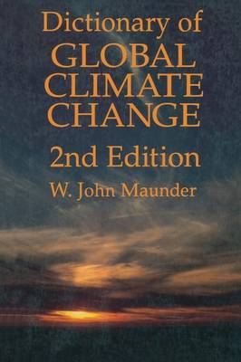 Dictionary of Global Climate Change (Paperback)