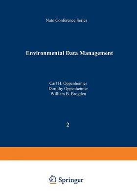 Environmental Data Management - I Ecology 2 (Paperback)
