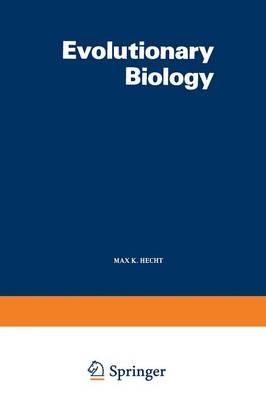 Evolutionary Biology: Volume 12 - Evolutionary Biology 12 (Paperback)