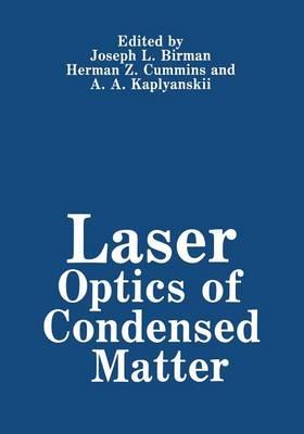 Laser Optics of Condensed Matter (Paperback)