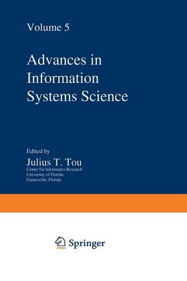 Advances in Information Systems Science: Volume 5 (Paperback)