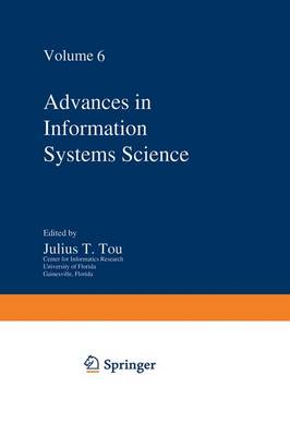 Advances in Information Systems Science: Volume 6 (Paperback)