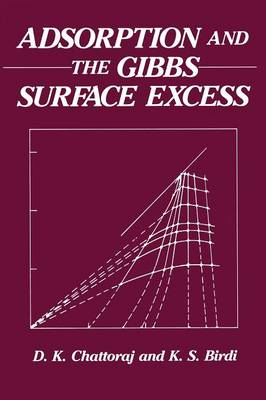 Adsorption and the Gibbs Surface Excess (Paperback)