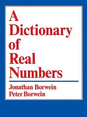 A Dictionary of Real Numbers (Paperback)