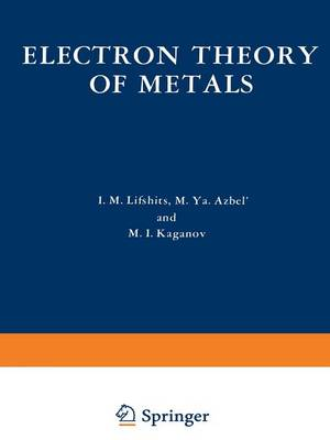 Electron Theory of Metals (Paperback)