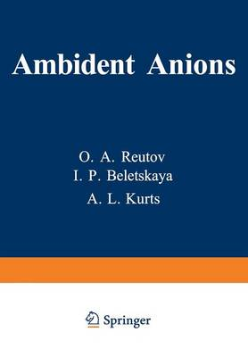 Ambident Anions (Paperback)