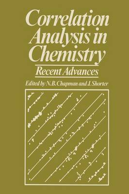 Correlation Analysis in Chemistry: Recent Advances (Paperback)