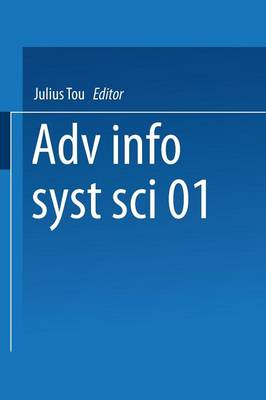 Advances in Information Systems Science: Volume 1 (Paperback)