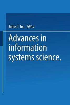 Advances in Information Systems Science: Volume 4 (Paperback)