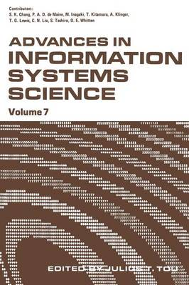 Advances in Information Systems Science: Volume 7 (Paperback)