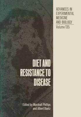 Diet and Resistance to Disease (Paperback)