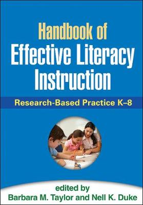 Handbook of Effective Literacy Instruction: Research-Based Practice K-8 (Paperback)