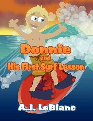 Donnie and His First Surf Lesson (Paperback)