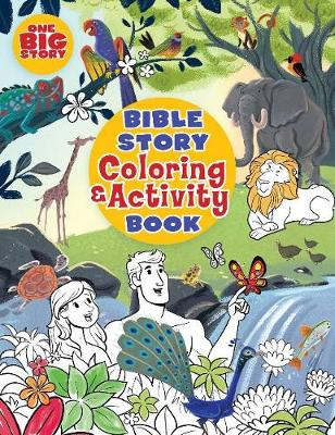 Bible story coloring and activity book (Paperback)