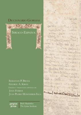 Diccionario Gorgias Siriaco-Espa�ol - Gorgias Handbooks (Hardback)