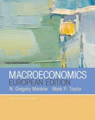 Macroeconomics (European Edition) (Paperback)