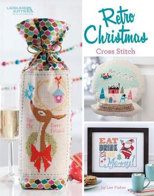 Retro Christmas Cross Stitch (Paperback)