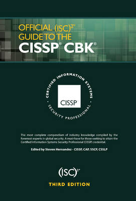Official (ISC)2 Guide to the CISSP CBK - ISC2 Press 11 (Hardback)