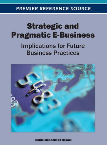 Strategic and Pragmatic E-Business: Implications for Future Business Practices - Advances in E-Business Research (Hardback)