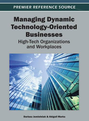 Managing Dynamic Technology-Oriented Businesses: High-Tech Organizations and Workplaces (Hardback)