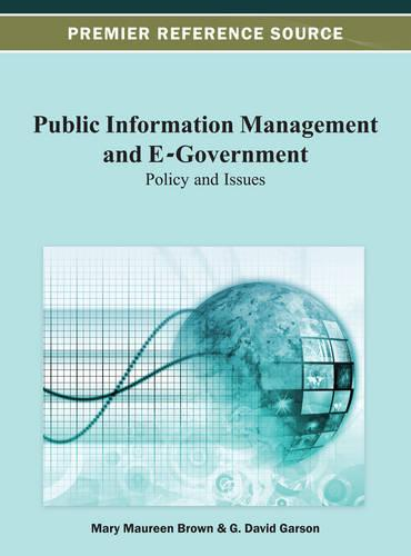 Public Information Management and E-Government: Policy and Issues (Hardback)