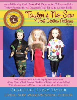Taylor's No-Sew Doll Clothes Patterns: Volume 1 (Paperback)