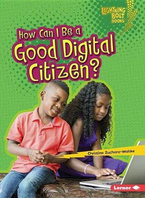 How I Can Be a Good Digital Citizen - Lightning Bolt Our Digital World (Paperback)