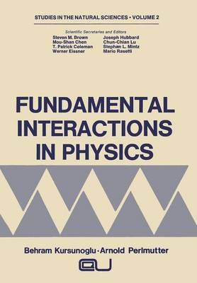 Fundamental Interactions in Physics - Studies in the Natural Sciences 2 (Paperback)