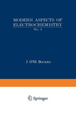 Modern Aspects of Electrochemistry No. 4 (Paperback)