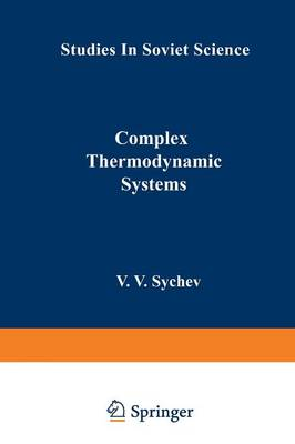 Complex Thermodynamic Systems - Studies in Soviet Science (Paperback)