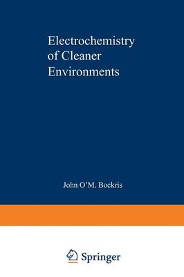 Electrochemistry of Cleaner Environments (Paperback)