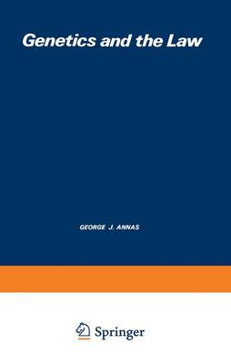 Genetics and the Law (Paperback)