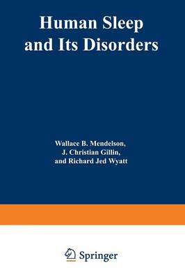 Human Sleep and Its Disorders (Paperback)